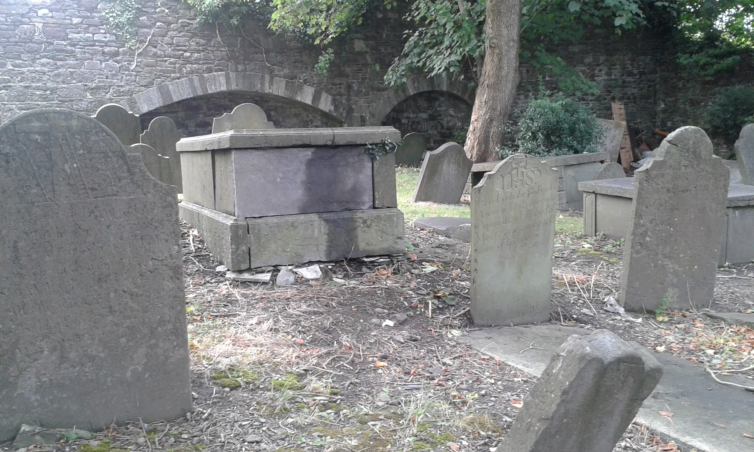 history of graveyard st patrick s gateway centre
