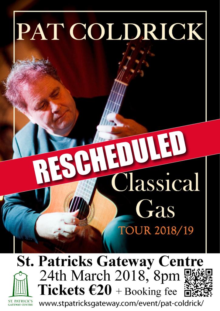 Pat Coldrick rescheduled